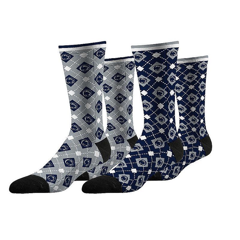 Penn State Nittany Lions Argyle Sock 2-Pack