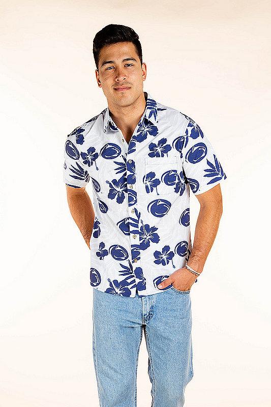 Penn State Nittany Lions Hawaiian Shirt MPL-SRWNCAA-LS1458