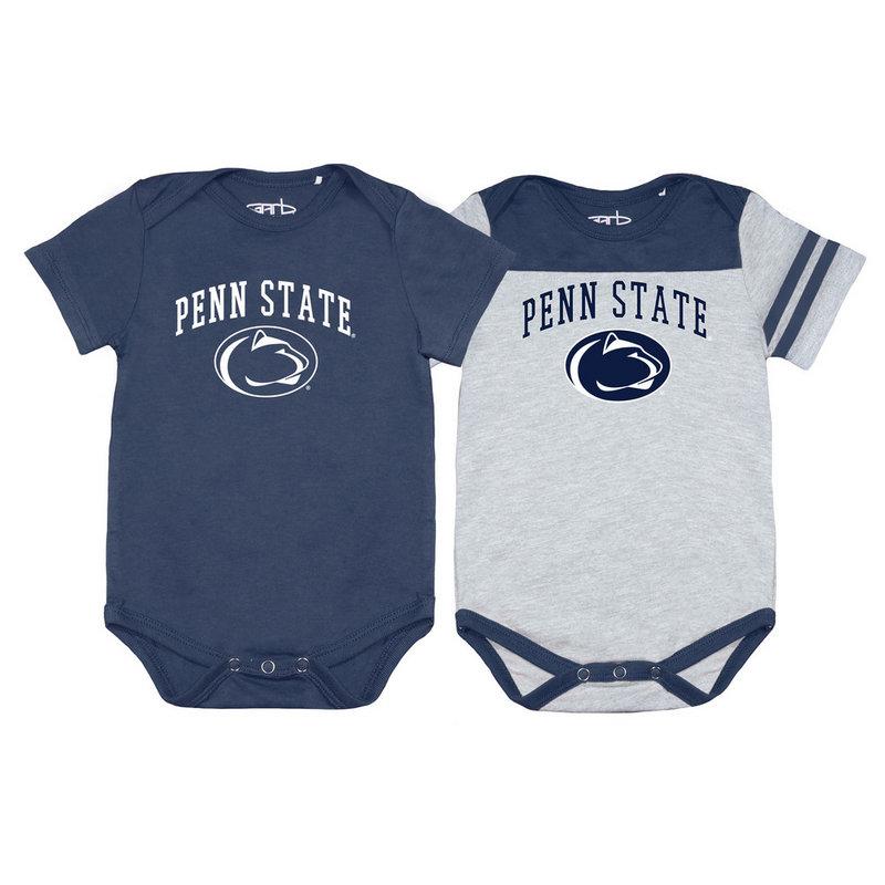 Penn State Nittany Lions Infant Onesie 2 Pack TOMMY-I-NAV-PENNSTATE
