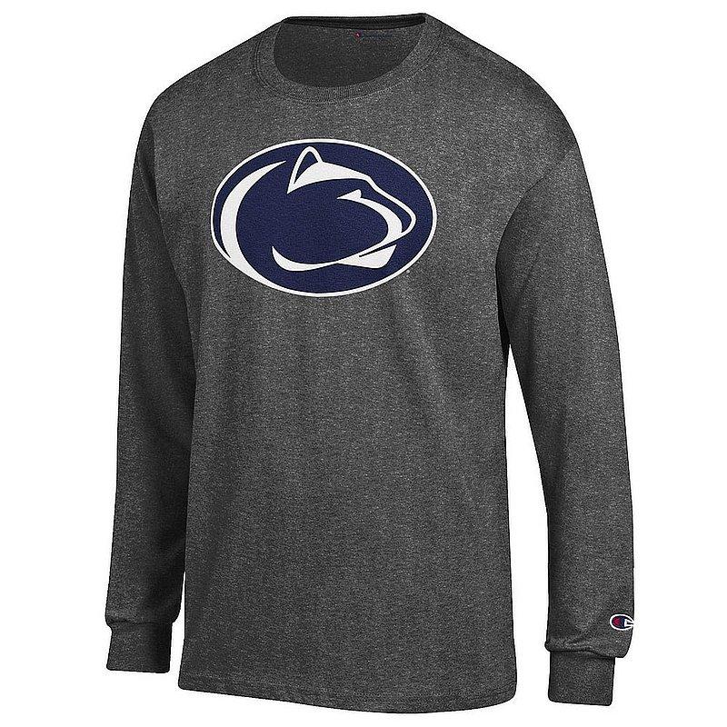 Penn State Nittany Lions Long Sleeve TShirt Icon Charcoal APC03003787*