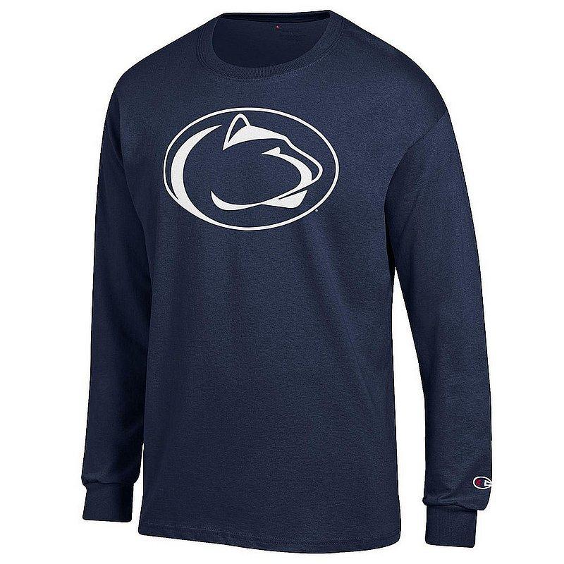 Penn State Nittany Lions Long Sleeve TShirt Icon Navy APC03003786*