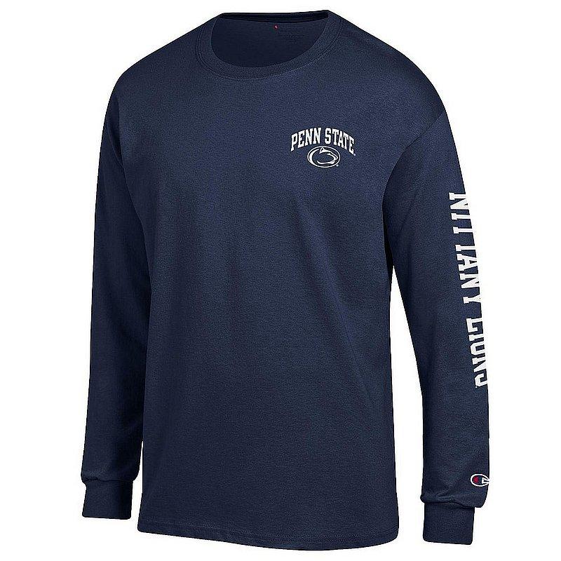 Penn State Nittany Lions Long Sleeve TShirt Letterman Navy APC02983661/APC02973471
