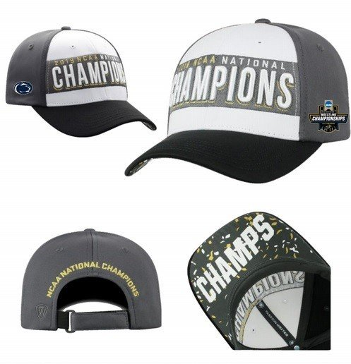 Penn State Nittany Lions National Wrestling Champs Hat