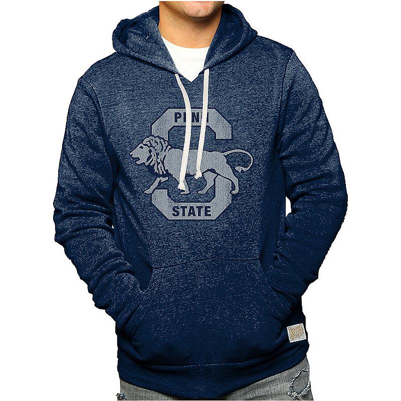 Penn State Nittany Lions Retro Hooded Sweatshirt Navy Vault CPNN101A_RB6090M_STN