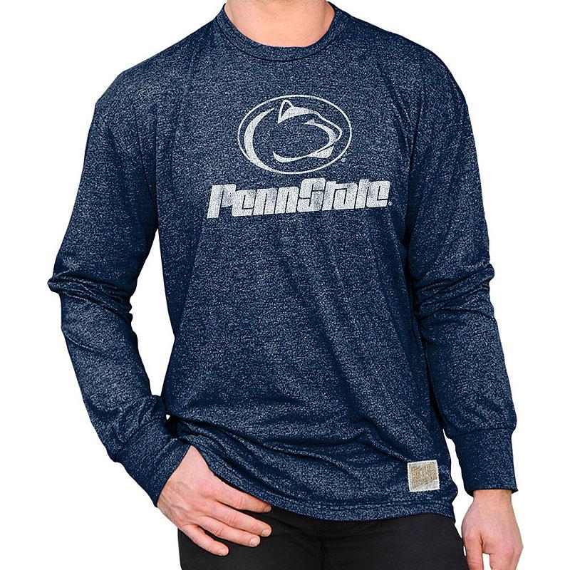 Penn State Nittany Lions Retro Long Sleeve TShirt Navy RB424