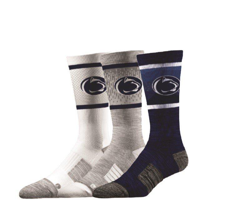 Penn State Nittany Lions Socks 3-Pack