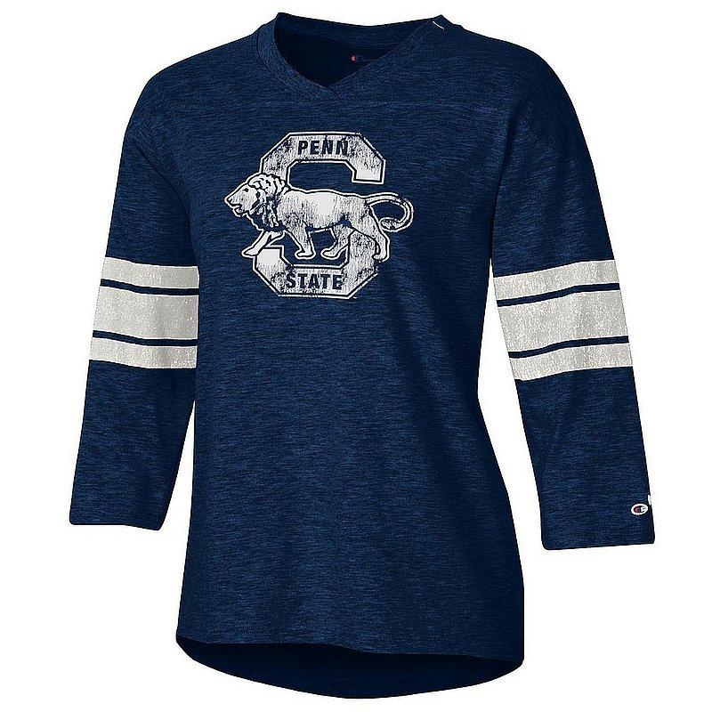 Penn State Nittany Lions Women's Slub Football TShirt