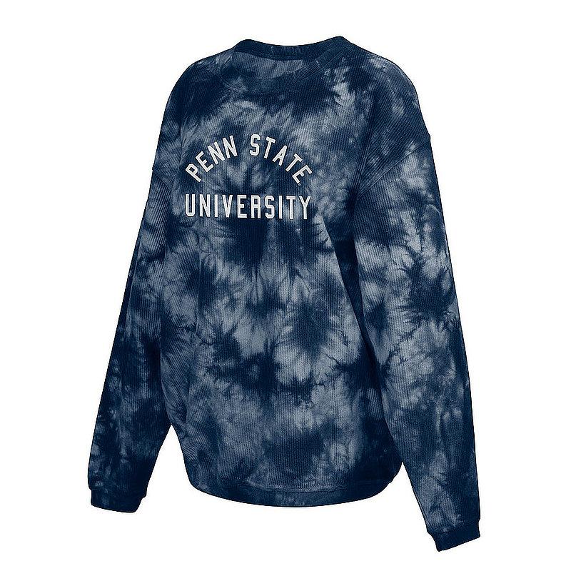 Penn State Nittany Lions Women's Tie-Dye Corded Crewneck Sweatshirt 443-50-PS52