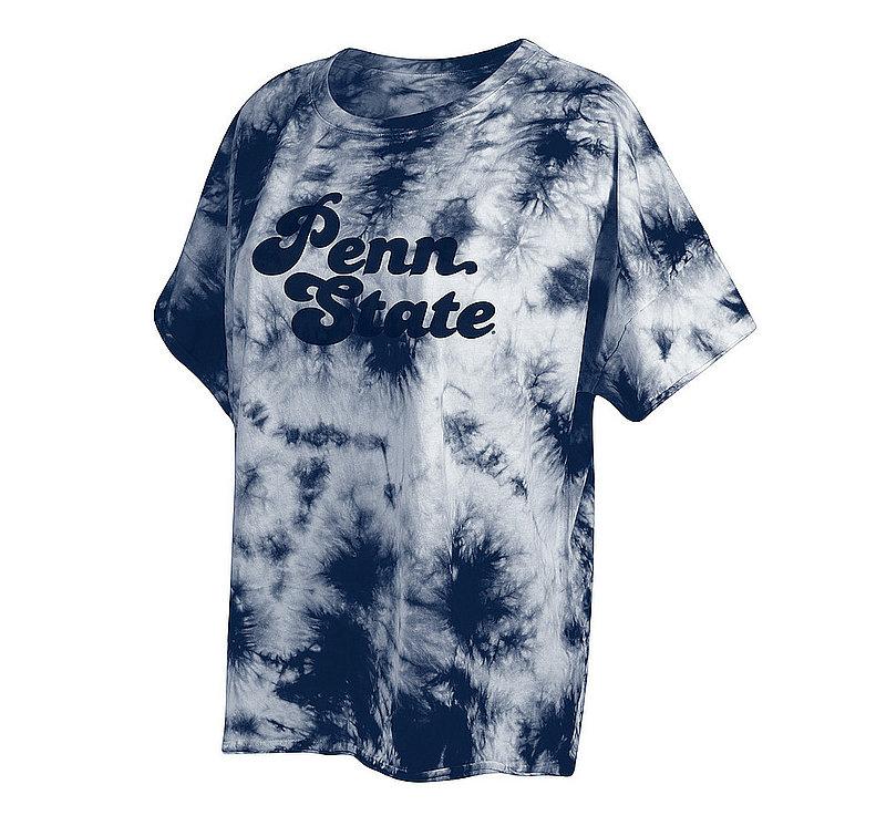 Penn State Nittany Lions Women's Tie-Dye Slouchy Tshirt 469-50-PS546