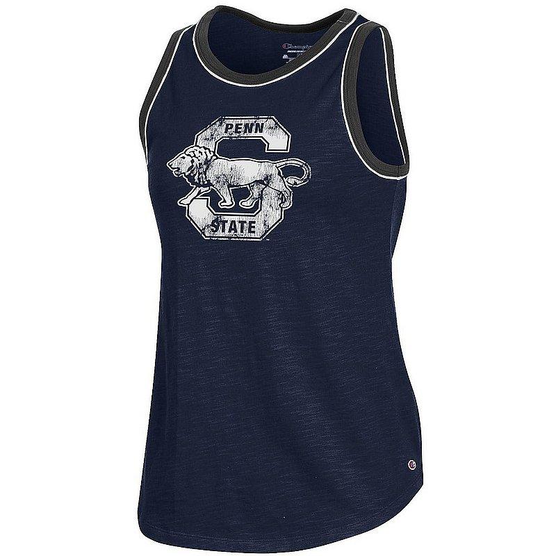 Penn State Nittany Lions Women's Vintage Slub Ringer Tank Top APC03334999