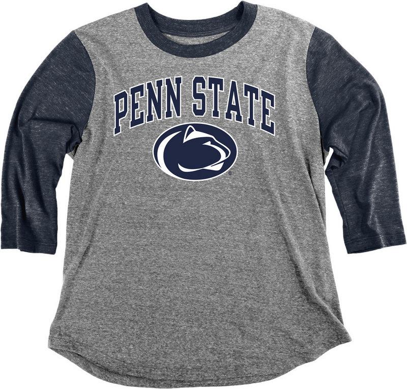 Penn State Nittany Lions Womens 3/4th Sleeve Tshirt C7JN_JTBB_HEANAV