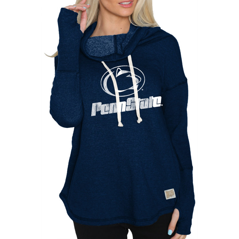 Penn State Nittany Lions Womens Funnel Neck Sweatshirt