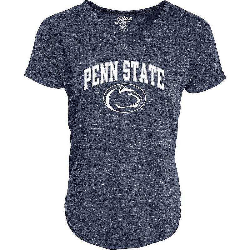 Penn State Nittany Lions Womens Vneck TShirt Navy