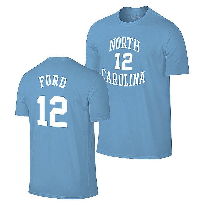 Phil Ford Retro North Carolina Tar Heels Basketball Jersey Tshirt