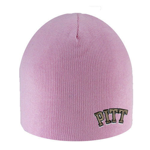Pitt Panthers Knit Hat Pink