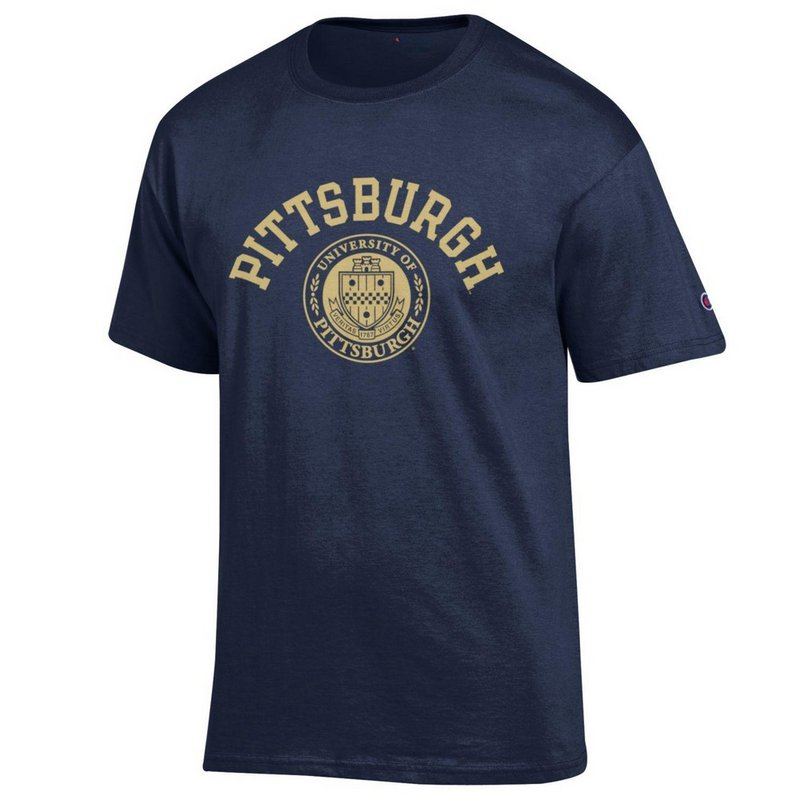 Pitt Panthers Tshirt Seal Navy APC02928121