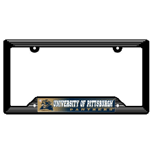 Pittsburgh Panthers License Plate Frame Plastic PITT-146