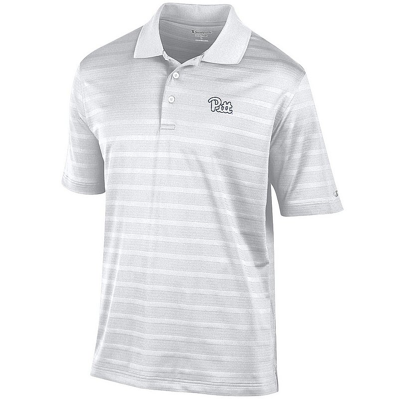 Pittsburgh Panthers Polo Striped White AEC02949911