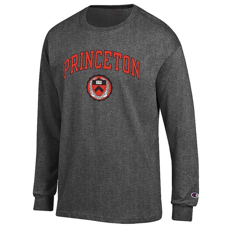 Princeton Tigers Long Sleeve TShirt Varsity Charcoal APC03002453