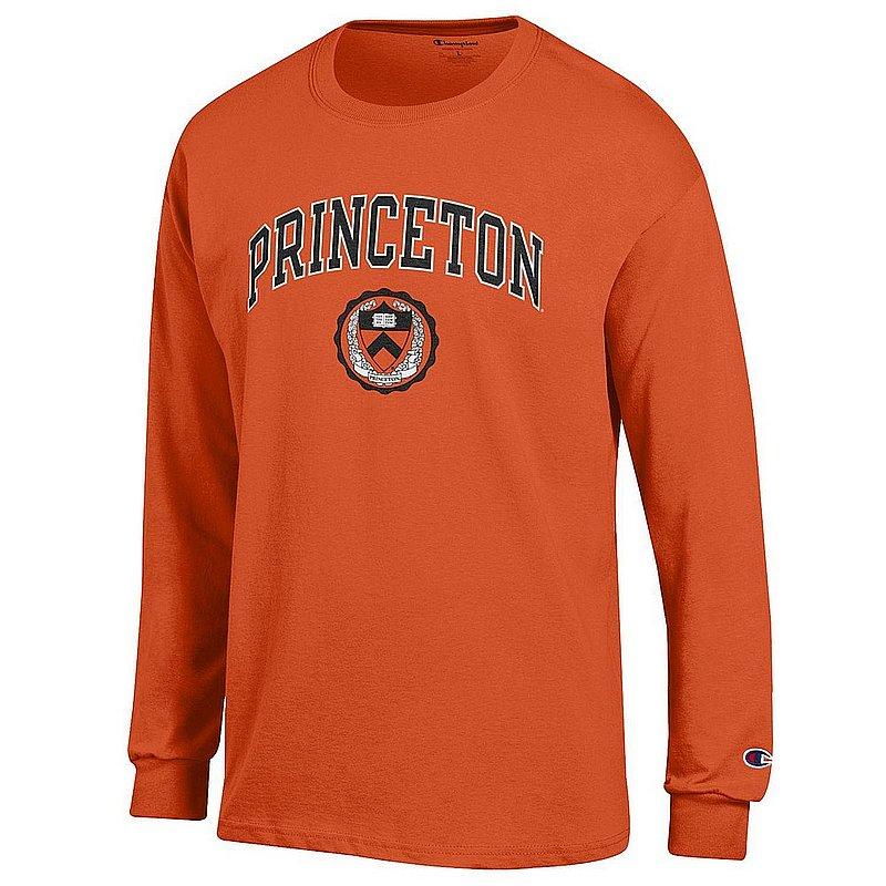 Princeton Tigers Long Sleeve TShirt Varsity Orange APC03001061