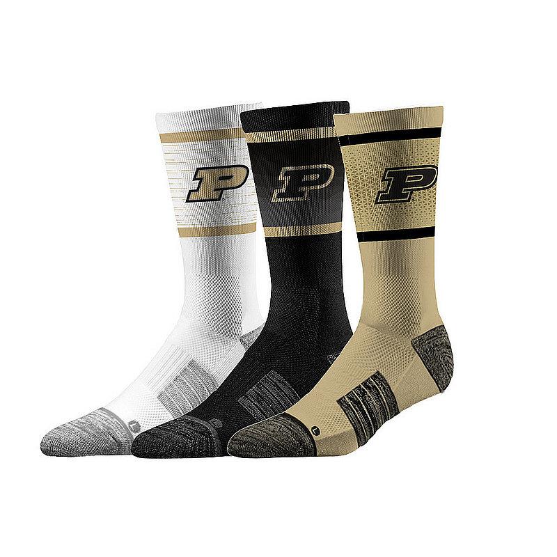Purdue Boilermakers Socks 3-Pack