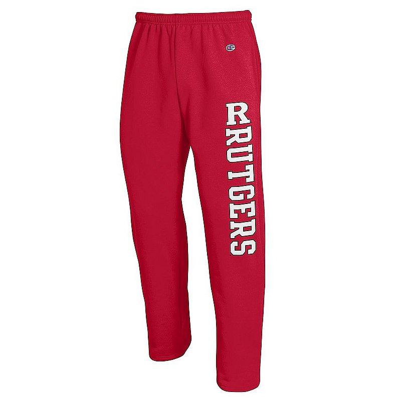 Rutgers Scarlet Knights Sweatpants Pockets Scarlet APC02990830