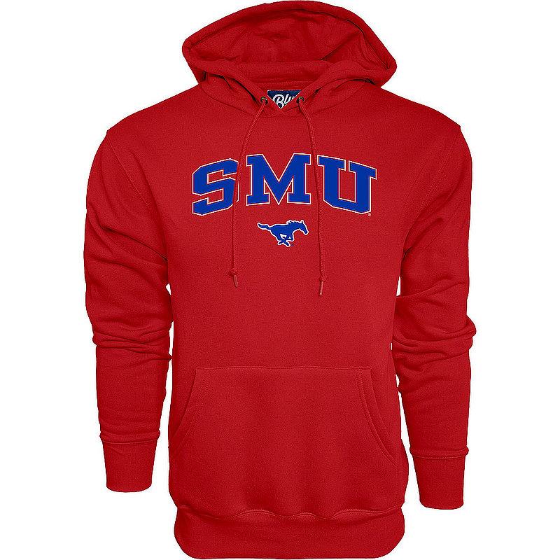 SMU Mustangs Hooded Sweatshirt Varsity Red APC03376032
