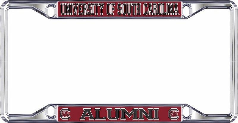 South Carolina Gamecocks License Plate Frame Alumni 31290