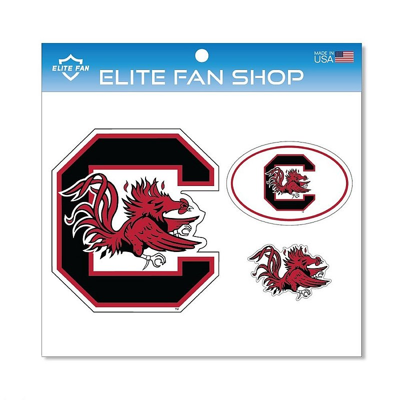 South Carolina Gamecocks Magnet 3-Pack