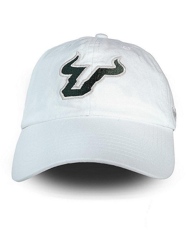 South Florida Bulls Hat Icon White CHAMP-SFL-ADJ-WHT2