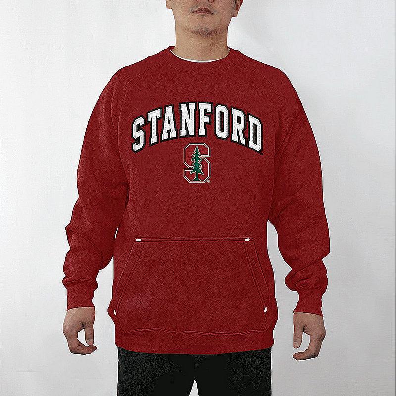 Stanford Cardinal Crewneck Captain Sweatshirt STNA3354