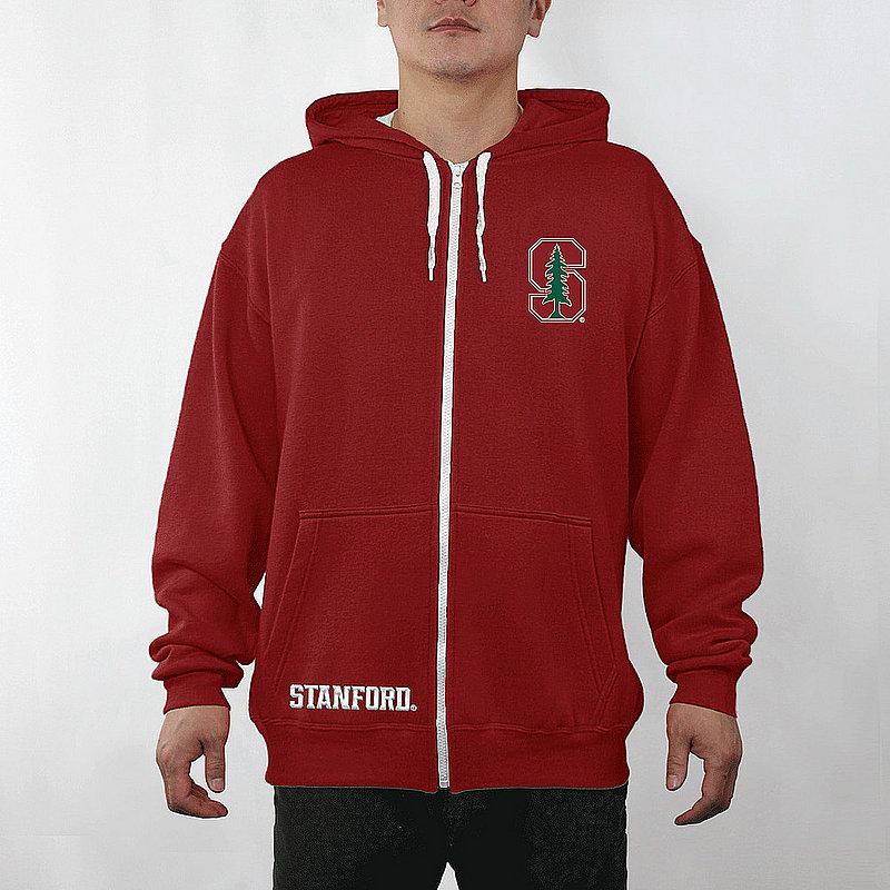 Stanford Cardinal Full Zip Hooded Captain Sweatshirt STN29704