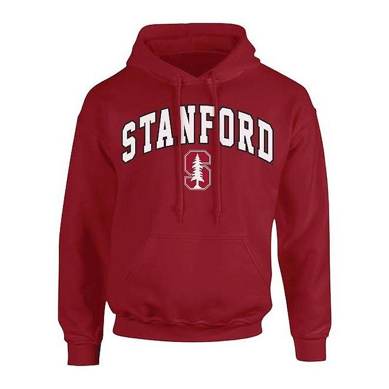 Stanford Cardinal Hooded Sweatshirt Arch Cardinal P0006778