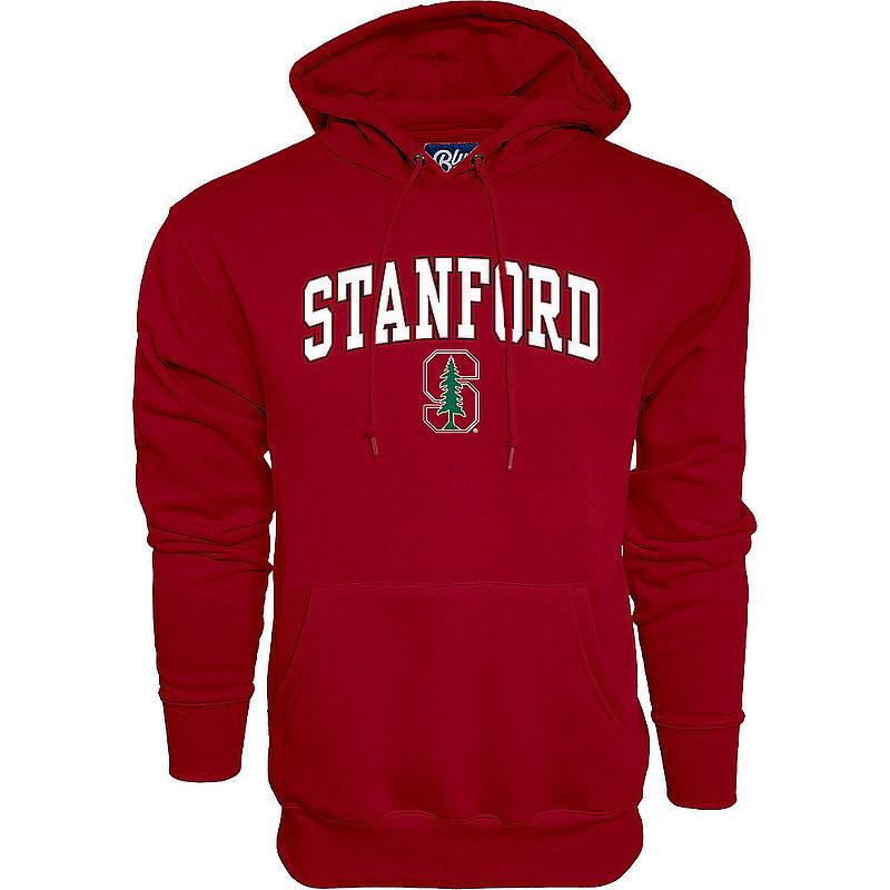 Stanford Cardinal Hooded Sweatshirt Varsity Cardinal Arch Over APC02879934*