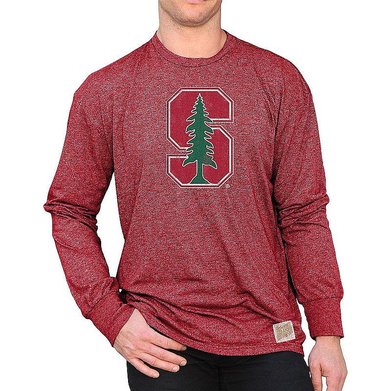 Stanford Cardinal Retro Long Sleeve Tshirt CSTA082D_RB424M_MTDR