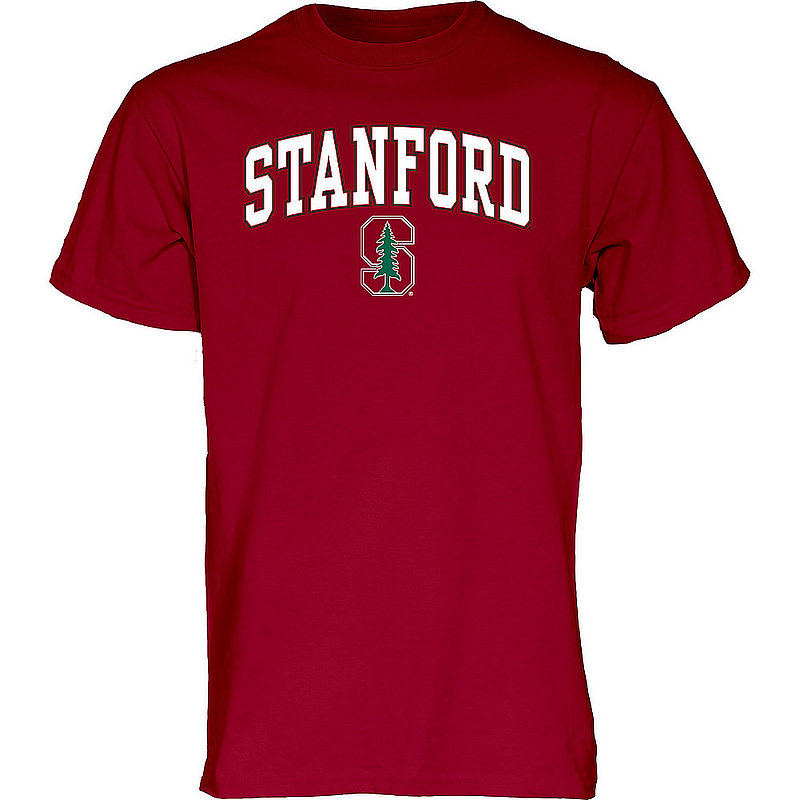 Stanford Cardinal TShirt Varsity Cardinal Arch Over APC02879934*
