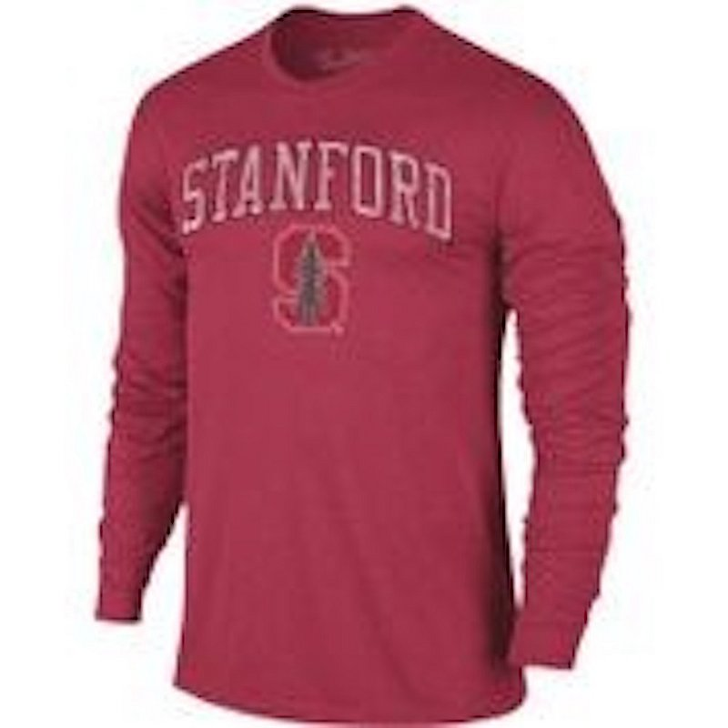 Stanford Cardinal Vintage Long Sleeve Tshirt Victory TV402_STAV1412A_HCA