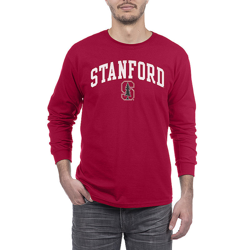Stanford Cardinals Long Sleeve Tshirt Arch Cardinal APC02879934