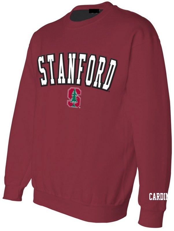 Stanford Crew Neck Sweatshirt Crimson STN49152