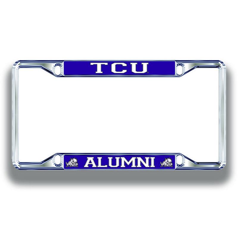 TCU Horned Frogs License Plate Frame Alumni 22966