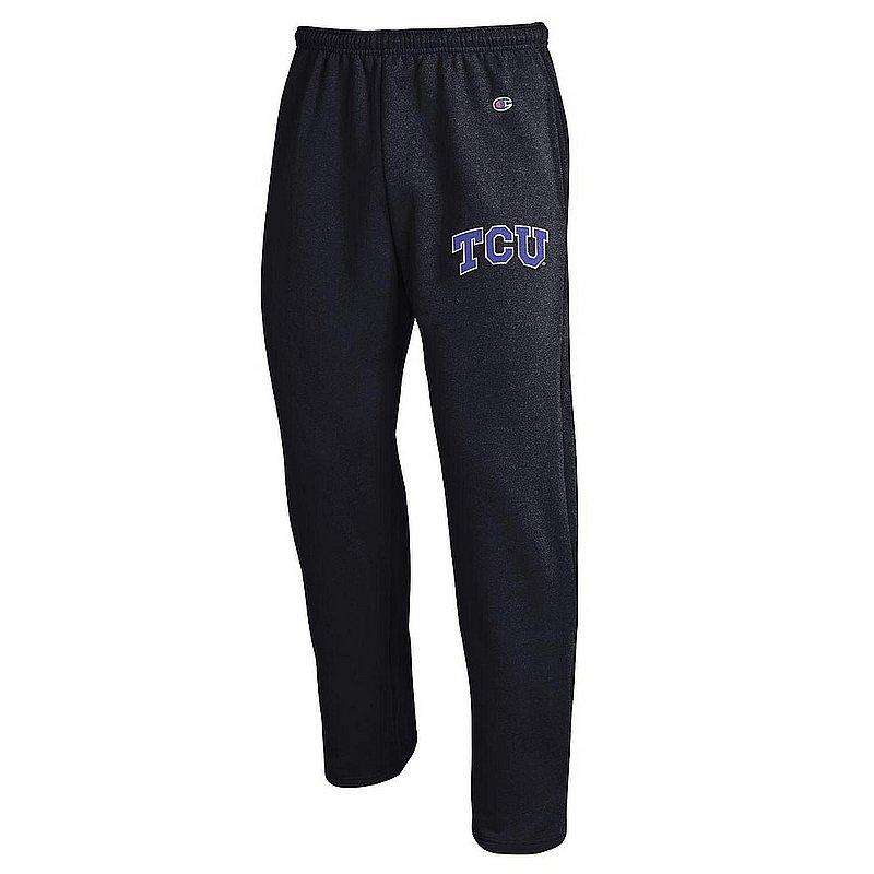 TCU Horned Frogs Sweatpants Pockets Charcoal APC02990854