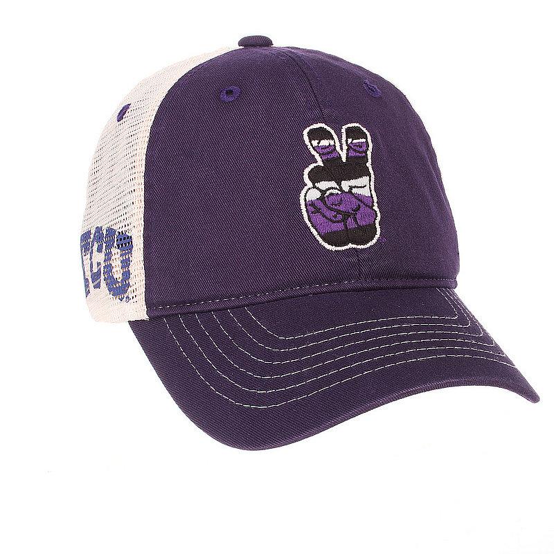 new style 5d246 2e706 ... wholesale tcu horned frogs trucker hat dab92 00d6d