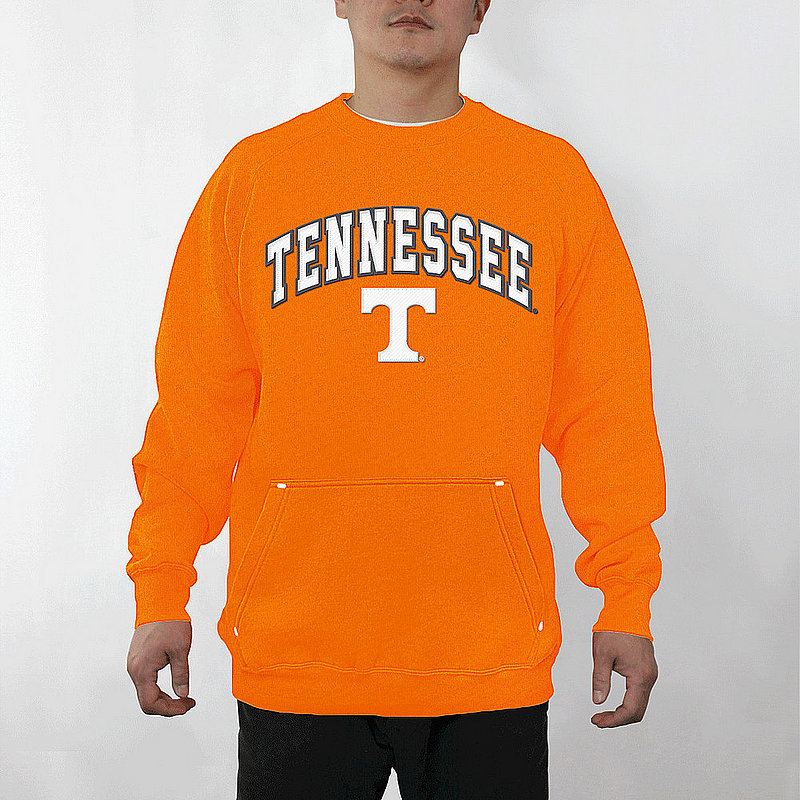 Tennessee Volunteers Crewneck Sweatshirt Captain Orange TENA3354