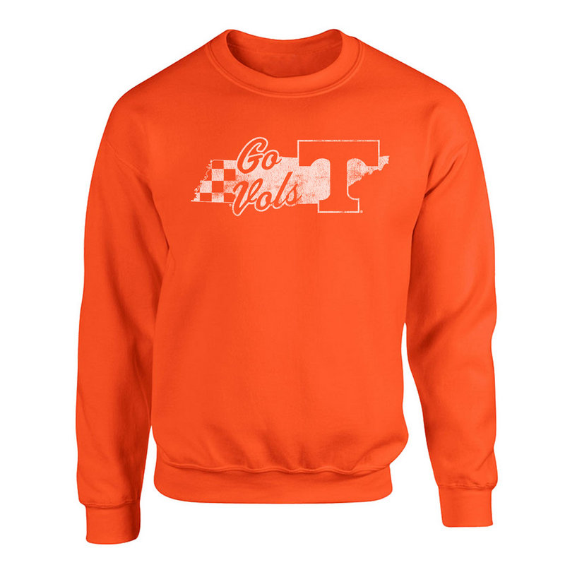 Tennessee Volunteers Crewneck Sweatshirt Orange P0006207