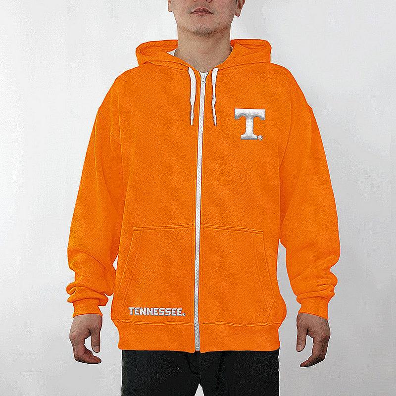 Tennessee Volunteers Full Zip Hooded Sweatshirt Captain Orange TEN29704