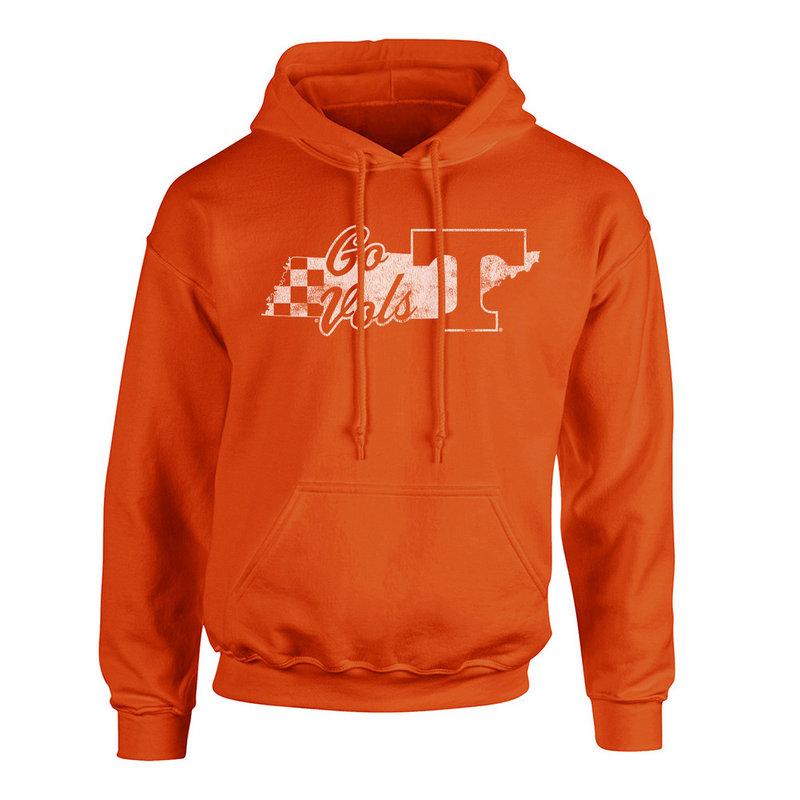 Tennessee Volunteers Hooded Sweatshirt Orange P0006207