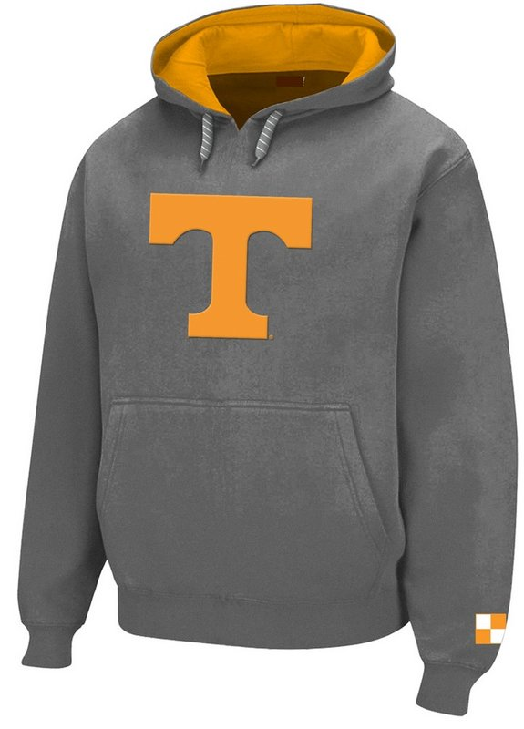 Tennessee Volunteers Hoodie Sweatshirt Gray Twill TEN28417GRH