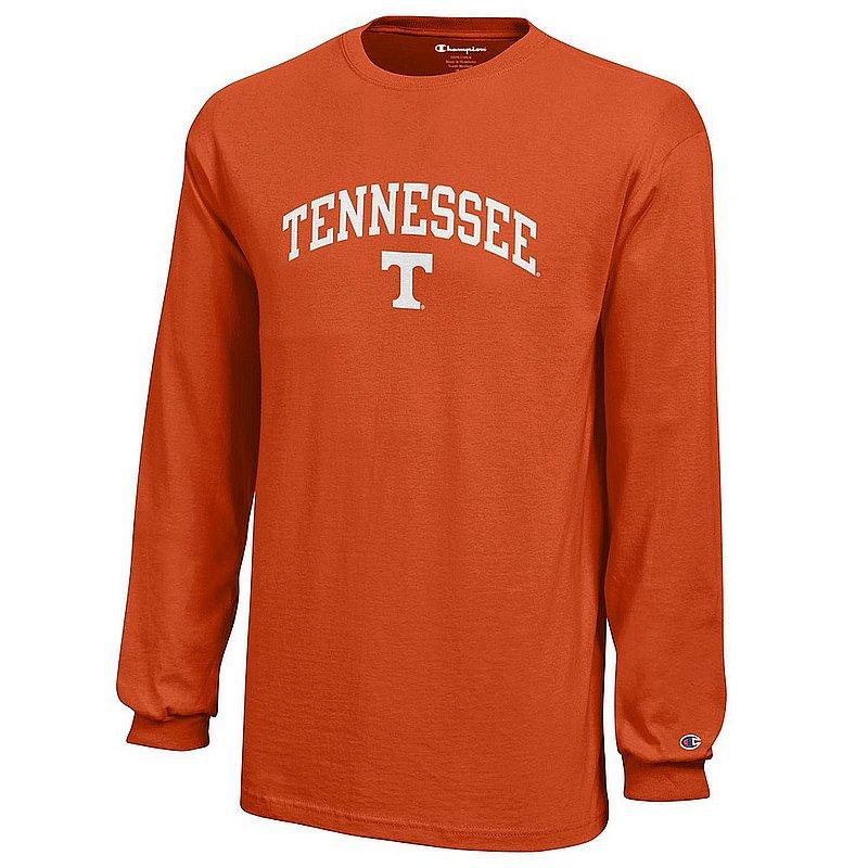 Tennessee Volunteers Kids Long Sleeve TShirt Arch Orange APC03009055