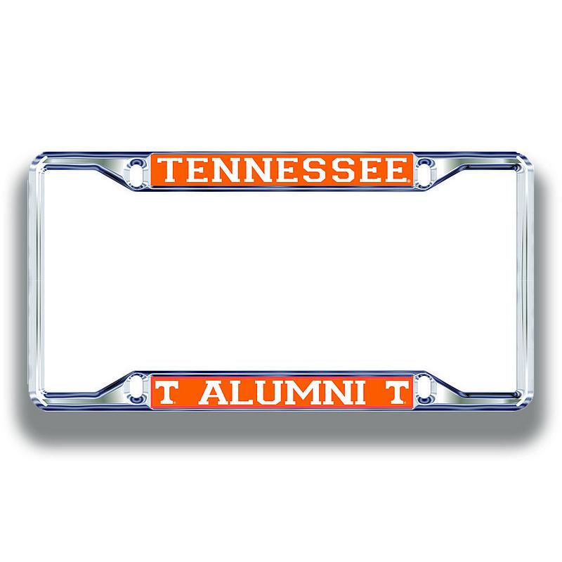 Tennessee Volunteers License Plate Frame Alumni 00779