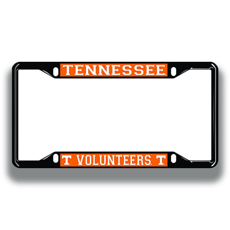 Tennessee Volunteers License Plate Frame Black 00778